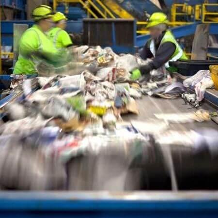 Puestos laborales sociales Recicladores de Basura